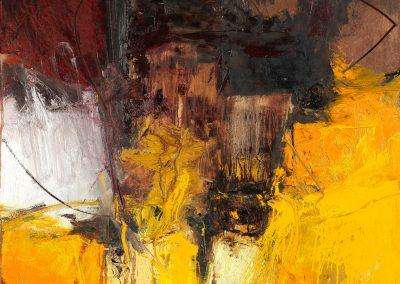 Bargoni - Amorevole - olio su tela (110x110)