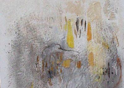 Bargoni - Cadmio incantato - olio su tela (130x110)-