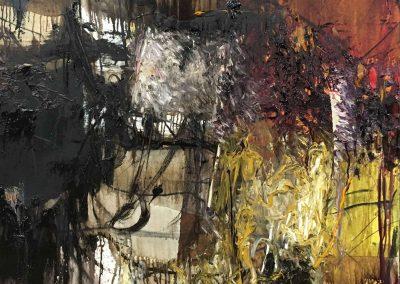 Bargoni - Castore - olio su tela (110x110)