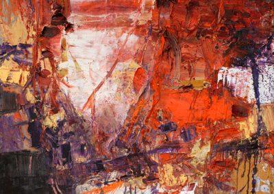 Bargoni - Dietro l'angolo - olio su tela (90x110)