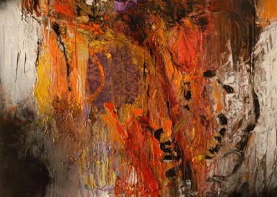 Bargoni - Egregie cose - olio su tela (170x130)