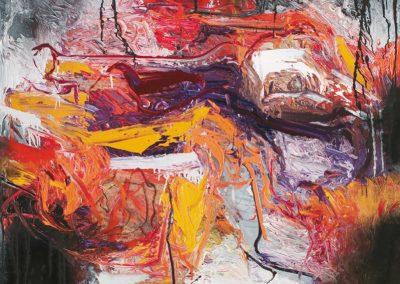 Bargoni - Falce di luce - olio su tela (150x130)
