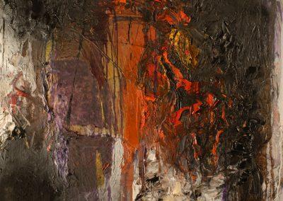 Bargoni - Forte raggio - olio su tela (170x130)