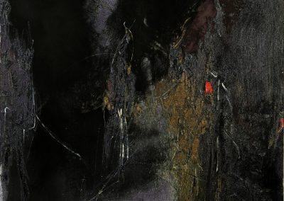 Bargoni - Il centro dell'ocra - olio su tela (170x140)