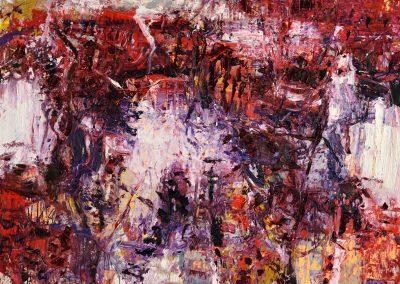 Bargoni - Il posto delle fragole - olio su tela (160x190)