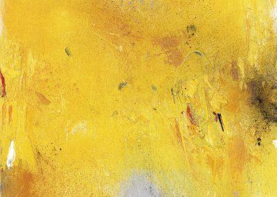 Bargoni - Il silenzio del giallo - olio su tela (130x110)
