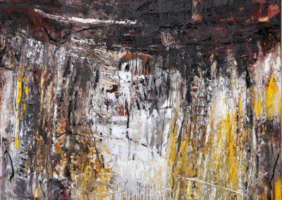 Bargoni -Jared - olio su tela (140x160