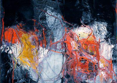 Bargoni - La sorgente del bianco - olio su tela (170x140)