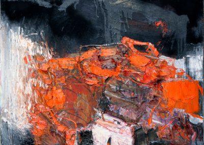 Bargoni - Ombra colorata - olio su tela (130x110)
