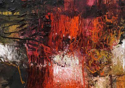Bargoni - Polluce - olio su tela (110x110)