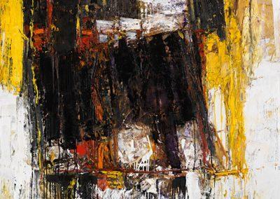 Bargoni - Raccontare - olio su tela (130X170)