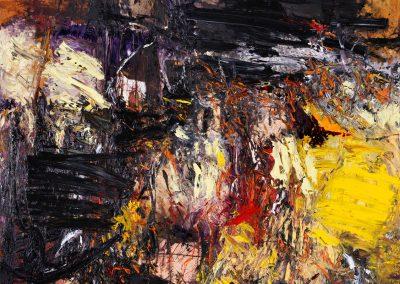 Bargoni - Riscatto - olio su tela (160x180)