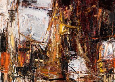 Bargoni - Sacripante - olio su tela (130X170)