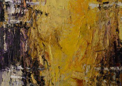 Bargoni - Solitudine olio su tela (130x140)