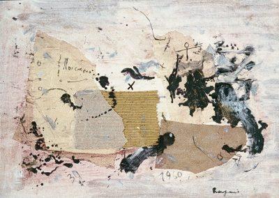 Bargoni - Sovrana sorte - olio su tela (100x80)