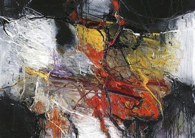 Bargoni - Sovrano in autunno - olio su tela (190x160)