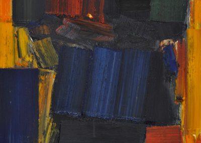 Bargoni - Squadrando - olio su tela (130x110)