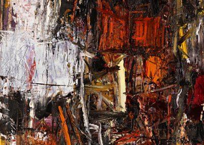 Bargoni - Terra d'Erika - olio su tela (150X150)