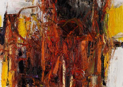 Bargoni - Ventana - olio su tela (110x130)
